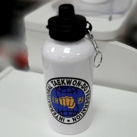 Бутылка для воды, металл, ITF