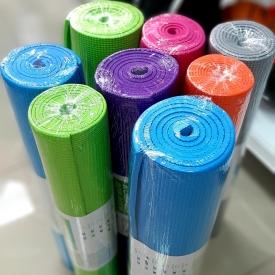 Коврик для йоги, PVC 173x61x0,5 см