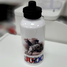 Бутылка для воды, металл, Дзюдо