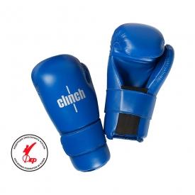 Перчатки полуконтакт, синие