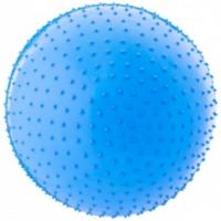 Фитбол 55 см, массажный, антивзрыв, голубой