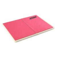 Доска для разбивания Rebreakable board Khan, красная
