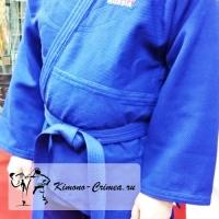 Кимоно дзюдо, синее (130-185)