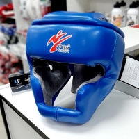 Шлем тренировочный, синий