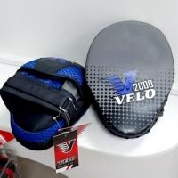 Лапы боксерские VELO 2000, черный/синий