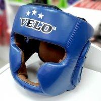 Шлем боксерский  закрытый, кожа, cbybq