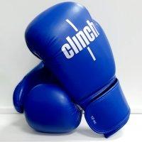 Перчатки боксерские OLIMP к/зам, синие, 10oz