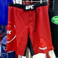 Шорты UFC, красные