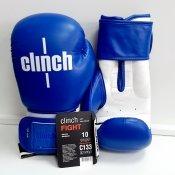 Перчатки боксерские Fight, синие, 10oz