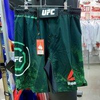 Шорты UFC, зеленые